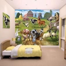 Farmyard Wallpaper