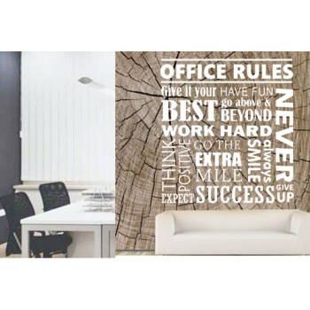 Office Rules Wallpaper
