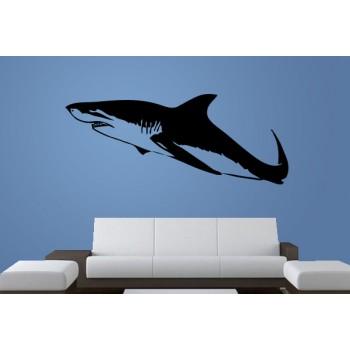 Shark Vinyl Wall Art