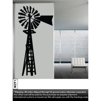 Windmill 2 Vinyl Wall Art Wallpaper