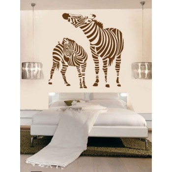 Zebra Vinyl Wall Art Wallpaper